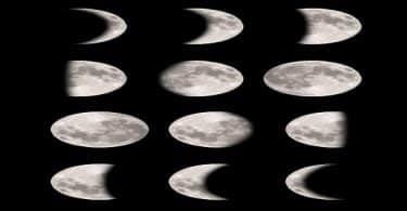 بحث عن مراحل اطوار القمر خلال الشهر الهجري بالترتيب