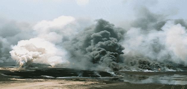 بحث قصير عن اثار الحروب على تدمير البيئة