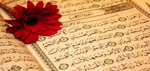 تفسير رؤية سورة الرحمن في المنام
