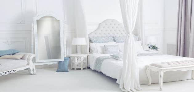 تفسير رؤية غرفة النوم البيضاء في المنام