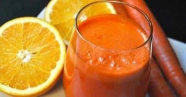 فوائد عصير الجزر والبرتقال على المعدة