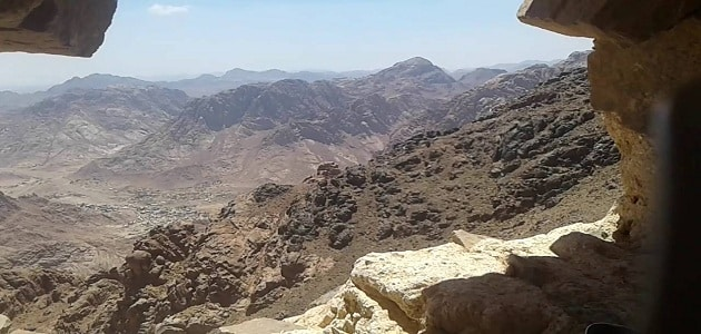 Information on the sanctity of the Holy Valley in Egypt