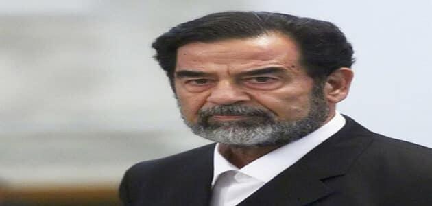 19 حكم واقوال لصدام حسين الصادمة في حكم البلاد