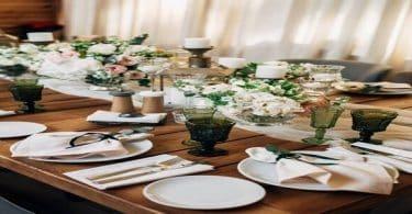 اتيكيت ترتيب طاولة الطعام بالصور والخطوات