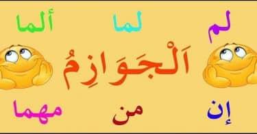بحث عن انواع حروف النصب والجزم في اللغة العربية