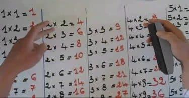 جدول الضرب من 1 إلى 12 بالعربي pdf