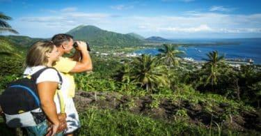 طرق السياحة السهلة في بابوا غينيا الجديدة