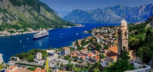 طرق السياحة في الجبل الأسود بكوتور