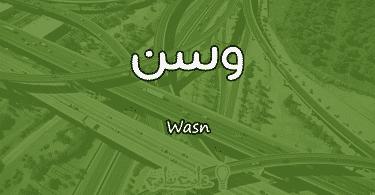 معنى اسم وسن Wasn وصفات حاملة الاسم
