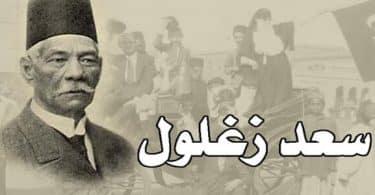 نبذة مختصرة عن انجازات سعد زغلول