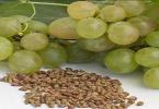 7 فوائد لبذور العنب لتخسيس مجرب وسريع