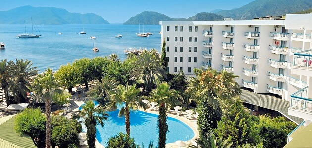 The most beautiful entertainment city in Marmaris Turkey