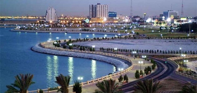 The most beautiful features of the city of Dammam for families pictures