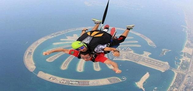 اسعار سكاي دايف للنساء المحجبات في دبي