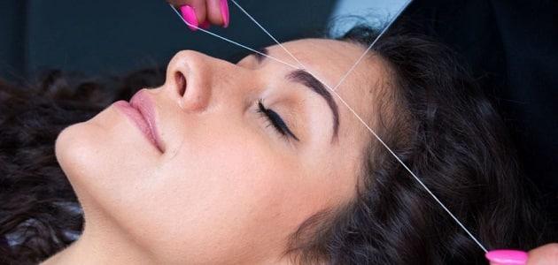 علاج التهاب الوجه بعد ازالة الشعر بالشمع و الفتلة