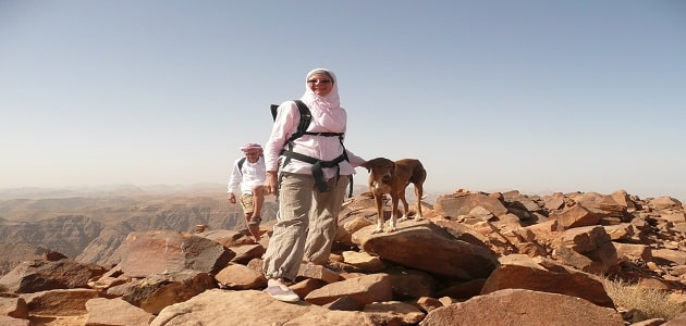 How to climb the largest plateau in Saudi Arabia
