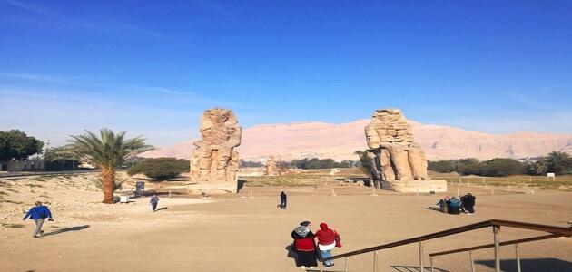 موضوع تعبير عن أهم معابد مصر ومكانتها بين الدول سياحيًا