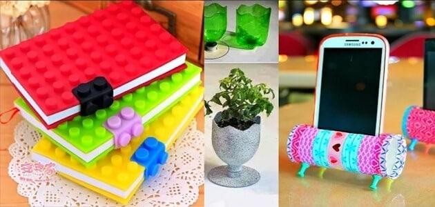 11 نوع من الأشياء المنزلية المستخدمة التي يمكن إعادة تدويرها