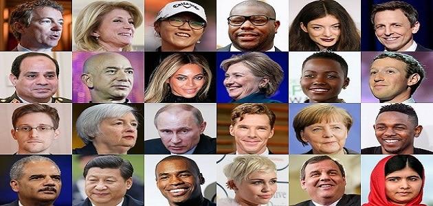 أكثر الشخصيات تأثيرًا في العالم