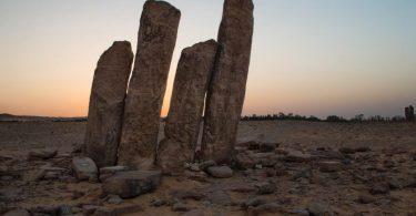 أين تقع آثار الرجاجيل القديمة