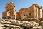 أين تقع آثار مملكة تدمر القديمة