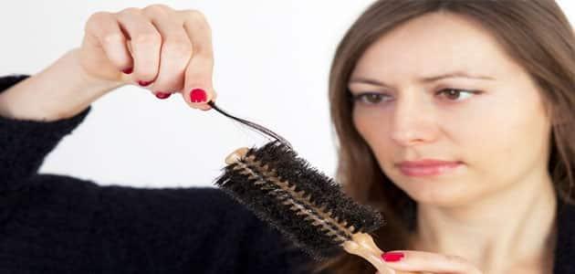 تساقط الشعر في الحلم للمتزوجة