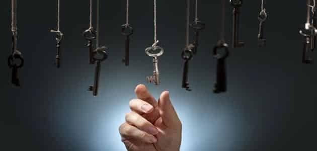 تفسير حلم أخذ أو إعطاء المفتاح لشخص