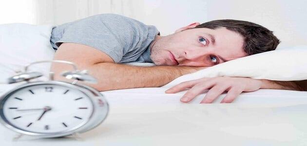 سبب عدم النوم في علم النفس