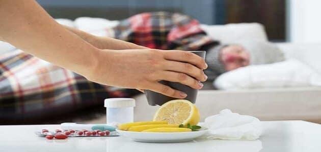 علاج سريع للزكام في المنزل