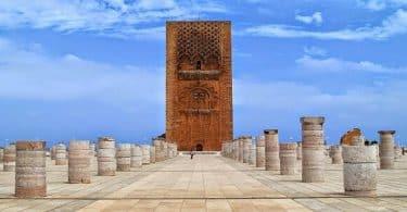 معلومات عن صومعة حسان وسبب تسميتها