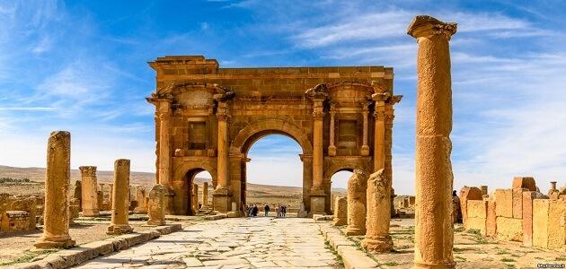 هل توجد آثار رومانية في الجزائر