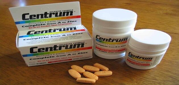 هل فيتامين سنتروم لوتين يزيد الوزن