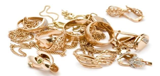 أنواع الحلي والمجوهرات