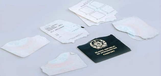 تفسير حلم جواز السفر ممزق
