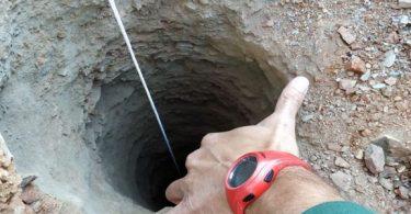 تفسير حلم وقوع شخص في حفرة