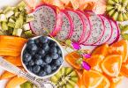 تقديم الفاكهة في المنام