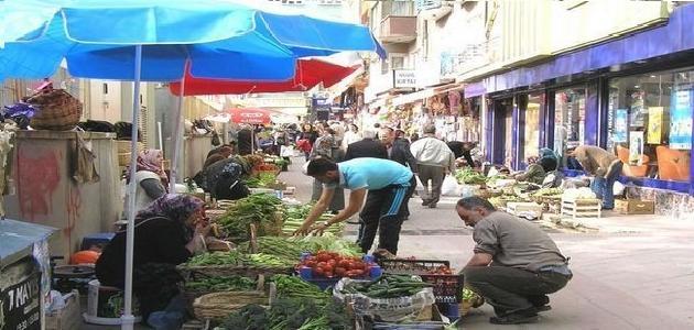 How to shop in the popular market Izmit Turkey