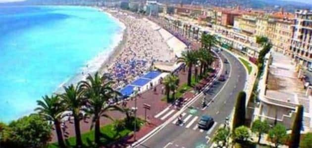 Information about the French city of Nice