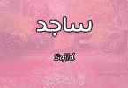 معنى اسم ساجد Sajid حسب علم النفس