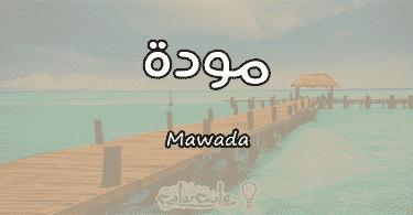 معنى اسم مودة Mawada وأسرار شخصيتها وصفاتها