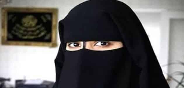 خلع أو لبس النقاب في المنام