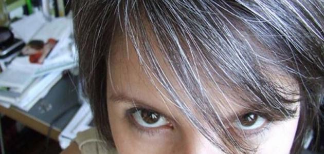 رؤية الشعر الأبيض في المنام