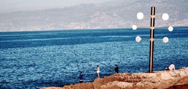 طرق واماكن صيد السمك في لبنان