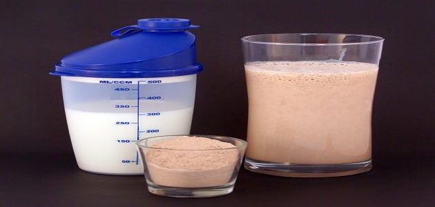 فوائد مسحوق البروتين لزيادة الوزن