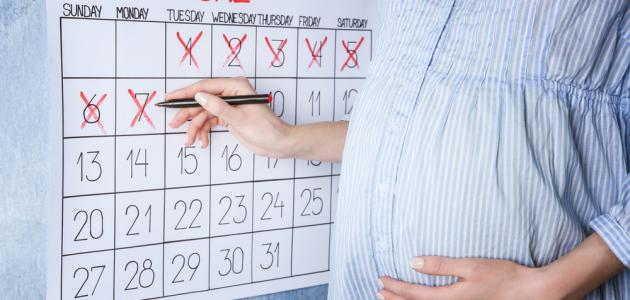 how to calculate weeks of pregnancy for microscopy