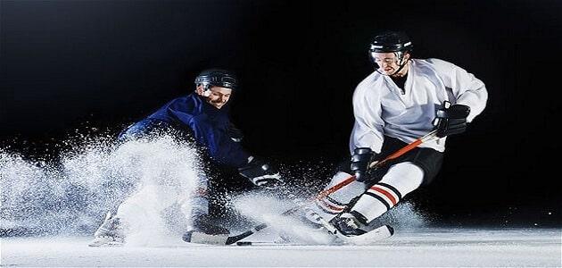 ما هي لعبة هوكي الجليد