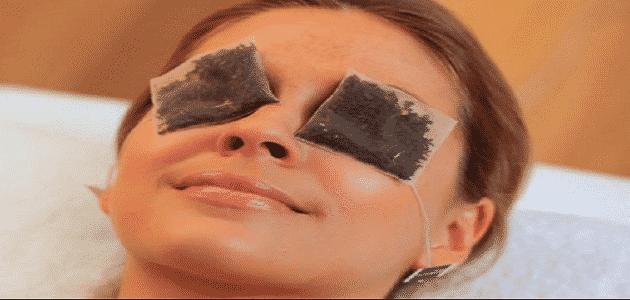 فوائد كمادات الشاي الأخضر للعين