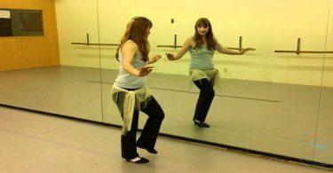 تمارين الرقص للمبتدئين