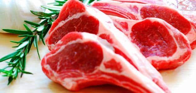 رؤية إعطاء اللحم النيء في المنام معلومة ثقافية