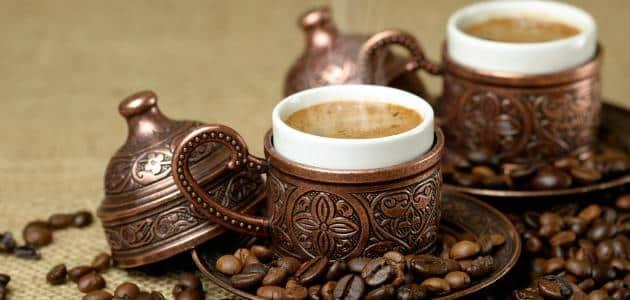 طريقة إعداد القهوة العربية بالصور